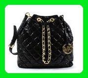 Michael Kors Frankie Quilted Large Convertible Shoulder Bag Black - Shoulder bags (*Amazon Partner-Link)