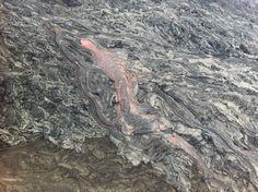 Iain Stewart's iPhone photo of Kilauea in Hawaii for Volcano Live broadcasts on BBC2.