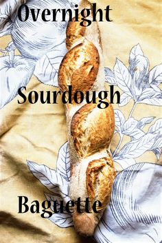 You want to make a beautifully shaped baguette but you don't want to schedule your all day around it? This recipe, is for you. Healthy Foods, Healthy Eating, Healthy Recipes, Sourdough Bread Starter, Bread And Pastries, Kitchen Witch, Baking Ingredients, Bread Baking, Baguette
