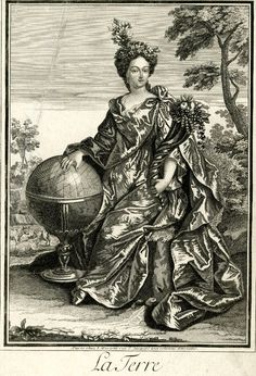 """""""The Elements: Earth"""" by Jean Mariette (1660-1742)"""