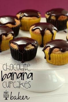 Pint Sized Baker: Chocolate Banana Fun-da-Middles