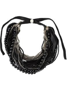 Shop Goti chain and bead necklace in Feathers from the world's best independent boutiques at farfetch.com. Shop 300 boutiques at one address.