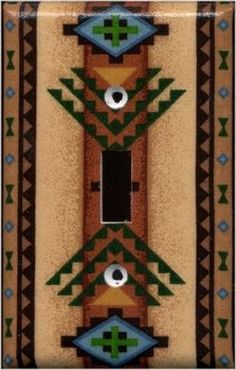 native american decorative items native american decor 1 single switchplatewallplate fabric covered - Native American Decor