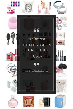 If you are like me and trying to get your head around a Christmas gift list, with the prospect of the big day looming at lightning speed. I have researched and compiled a complete beauty gift guide for teenage girls. Featuring 30 of the best and tren Christmas Gift List, Holiday Gifts, Luxury Candles, Diy For Girls, Gifts For Teens, Bath And Body Works, Gift Guide, The Balm, Diy Projects