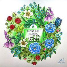 Instagram media adi81_nka - #blomstermandala #mariatrolle #pastel#polychromos…