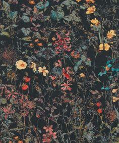 Liberty Art Fabrics  Wild Flowers E Tana Lawn Cotton