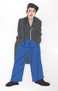 本日の一枚。2018/1/12ファッション誌から。2-6