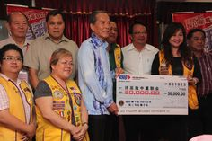 Lions in Malaysia helping to raise funds for local schools