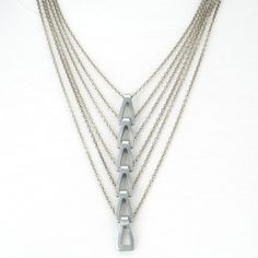 Vintage hardware chain necklace
