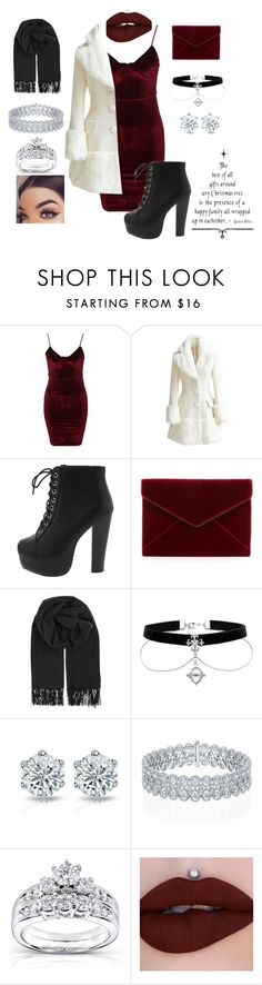 """""""Untitled #178"""" by jazzminmillwood ❤ liked on Polyvore featuring Glamorous, WithChic, Rebecca Minkoff, BeckSöndergaard and Kobelli"""