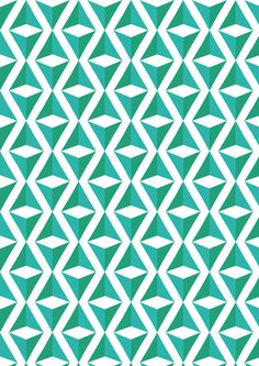 Green and blue repeating triangle square illusion pattern Beautiful illusions! Boho Pattern, Pattern Texture, Surface Pattern, Pattern Art, Surface Design, Pattern Design, Pretty Patterns, Shape Patterns, Beautiful Patterns