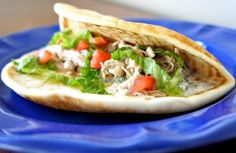 Slow Cooker Chicken Gyros with Tzatziki Sauce - Make this creative slow cooker chicken recipe for gyros, and skip your next trip to a Greek restaurant. This gyros recipe is sure to satisfy your Greek food craving!