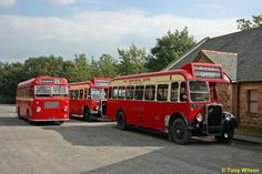 Buses in the Yorkshire Dales. As a child I actually used to travel on buses like these.