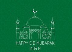 Happy Eid Mubarak 1434 H