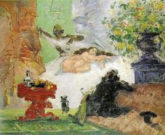 Olimpia moderna. Paul Cézanne. 1873-1874.