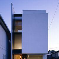 重量鉄骨造の家 鉄骨造 S造 施工例 インナーバルコニーの家 アーキッシュギャラリー