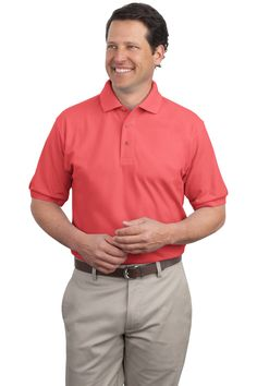 01a0aa0793b Grab your Mens Polo Shirt - Wrinkle  amp  shrink resistant at a great price  and