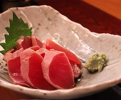 Marinated Tuna Sashimi Recipe