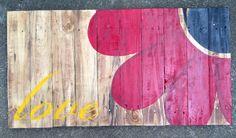 Pallet art - LOVE