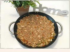 arroz de verduras y pollo con salsa de soja 1