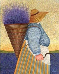 name unknown but looks like Lavender Harvest