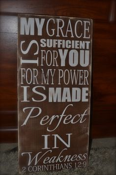 wood signs with sayings | , hand painted wood signs, scriptural signs, biblical quotes ...