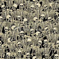 Most popular tags for this image include: skeleton, background, skull, skeletons and bones Halloween Backgrounds, Halloween Wallpaper, Textures Patterns, Print Patterns, Art Expo, Danse Macabre, Seamless Background, Cross Background, Halloween Art