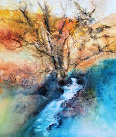 Of shady woodland stream and sun-kissed mountain « Ann Blockley