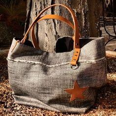 """34 Me gusta, 1 comentarios - Création cabas en pièce unique (@musedeprovence) en Instagram: """"Lin..linen..by Muse de Provence #cabas #maroquinerie #sacs #sacamain #handbag #lin #linen #bohochic…"""""""