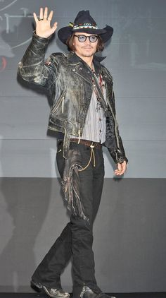 Johnny Depp Dark Shadows Japan Premiere