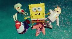 New 'SpongeBob Movie: Sponge Out of Water' Trailer Unleashed ...