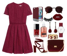 """#133"" by londero-danielle ❤ liked on Polyvore featuring Burberry, White House Black Market, Lime Crime, Gianvito Rossi, Ray-Ban, Original Penguin, Neutrogena and Annoushka"