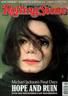 Michael Jackson Rolling Stone Covers | ButtaFlyy's Opinion