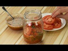 Bez tohohle není grilování grilováním - rajčata na korejský způsob!| Chutný TV - YouTube Barbacoa, Aioli, Canning Recipes, Antipasto, Dressing, Tasty Dishes, Fresh Rolls, Pickles, Bbq