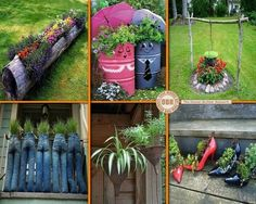 Upcycle garden