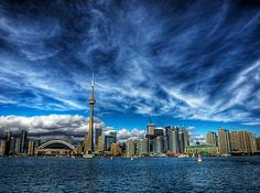 45 Very Beautiful Examples Of Skyline HDR Photography Toronto Skyline, Toronto City, Toronto Canada, Places To Travel, Places To Go, Panorama City, Hdr Photography, Bubble Photography, Rest Of The World