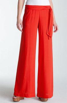 These pants look so comfy!  Splendid Cardigan, Tank & Pants | Nordstrom