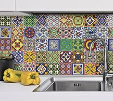 Wall Mexican Talavera Tile Decals for Kitchen Makeover (P... https://www.amazon.com/dp/B00T6FRW2Y/ref=cm_sw_r_pi_dp_23kBxbYM4HN37