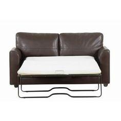 Debenhams Brown 'Lola' bonded leather sofa bed- at Debenhams Mobile