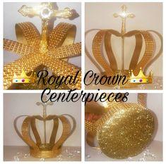 9 de alto oro corona centro de mesa corona por ShopDreamWeddings