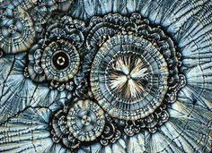 Vitamin C under a microscope.  Beautiful.