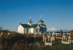 Ninilchik Russian church - Аляска — Википедия