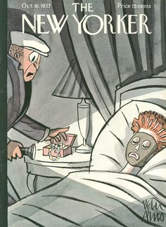 The New Yorker - Saturday, October 16, 1937 - Issue # 661 - Vol. 13 - N° 35 - Cover by : Peter Arno