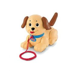 A Child's First Lovable Puppy. This Pull Along Classic has Lots of fun Actions for Little Ones - He Turns his Head, Wiggless his Ears, Wags his Tail as he's Pulled Along. Send this Beauty Full toy to your Child and See the Smiley Face of your Child through our Shop2Vizag. We do Delivery at Midnights and Early Mornings.