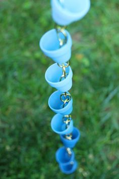 A DIY rain chain is not only decorative, but it is a great way to use nature to benefit your garden. Here are some great rain chain ideas for the next rain chain you add to your garden.