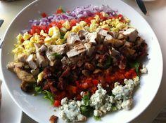 Quieres una nueva ensalada deliciosa? Emplatando Masrid: Mega ensaladas: la ensalada Cobb
