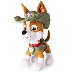 Paw Patrol, Real Talking Tracker Plush -- Details can be found at