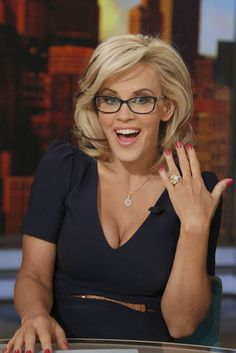 jenny mccarthy on the view.....hairstyle and glasses