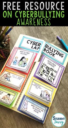 Free teaching resource that educates Upper Elementary and Middle School students about the dangers of cyberbullying! Teach students the importance of protecting themselves while using technology. Free Teaching Resources, Teaching Tips, Student Teaching, Computer Lessons, Computer Lab, Computer Teacher, Technology Lessons, Teaching Technology, Computer Science