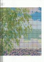 "Gallery.ru / TATO4KA6 - Альбом ""21"" Cross Stitch Landscape, Map, World, Gallery, Frames, Roof Rack, Location Map, Maps, The World"